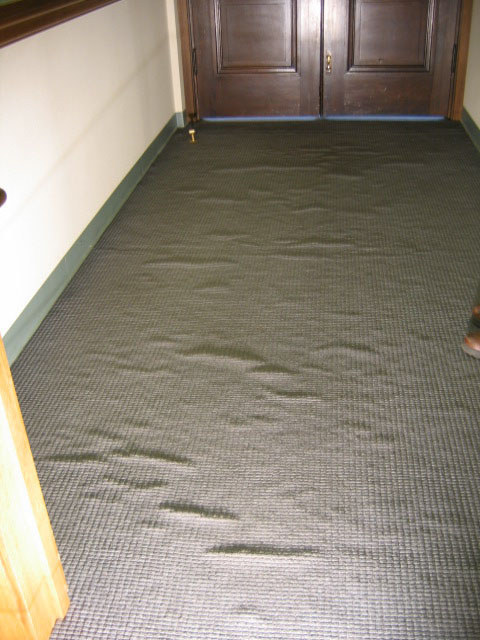 Floorworks Inspection Services 187 Gallery Of Carpet Problems
