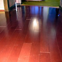 End Joint Shrinkage (Engineered Hardwood)
