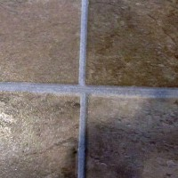 Tile/Grout Joints Mis-Aligned