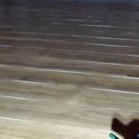 Curling/Lifting Vinyl Plank Edges