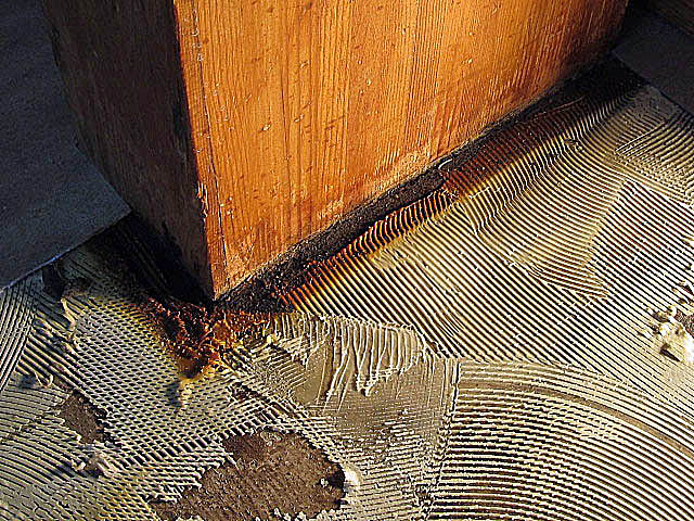 FloorWorks Inspection Services » Gallery of Vinyl Flooring Problems