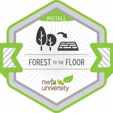 NWFA University - Forest to the Floor Badge