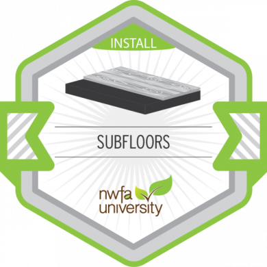 NWFA University - Understanding Subfloors Badge