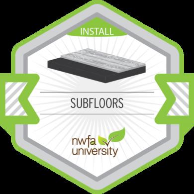 NWFA University - Understanding Subfloors Badge