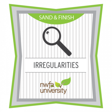 NWFA University - Understanding Finish Irregularities Badge