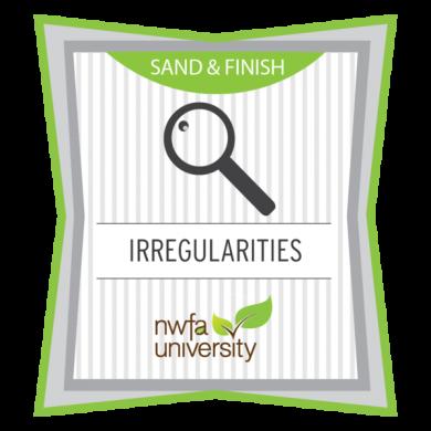 NWFA University - Understanding Finish Irregularities Badge