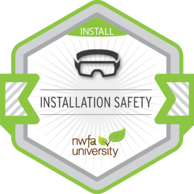 NWFA Univeristy – Installation Safety