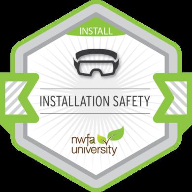 NWFA Univeristy – Installation Safety
