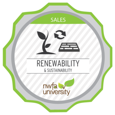 NWFA University - Renewability & Sustainability