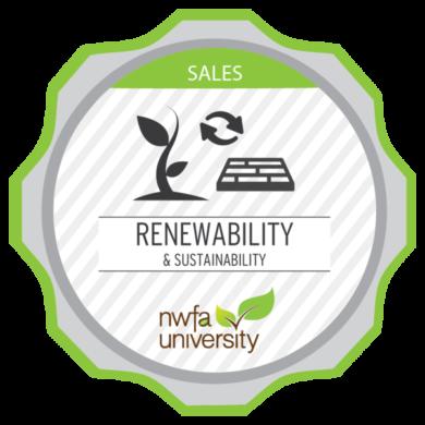 NWFA University - Renewability & Sustainability