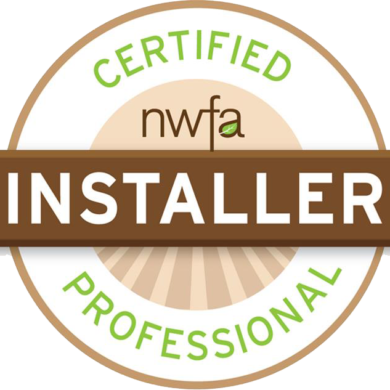 NWFA Certified Installer - CP 48