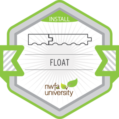 NWFA Install – Floating Floor Installation