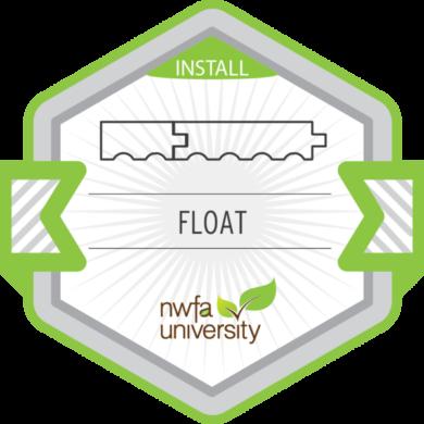 NWFA Install – Floating Floor Installation