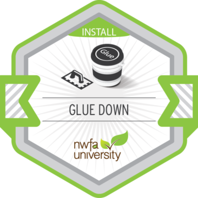 NWFA Install – Glue Down Installation