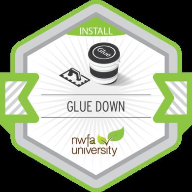 NWFA Install – Glue Down Installation