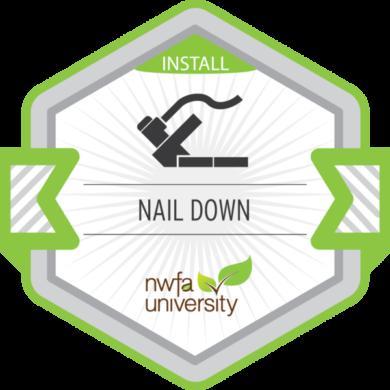 NWFA Install – Nail Down Installation