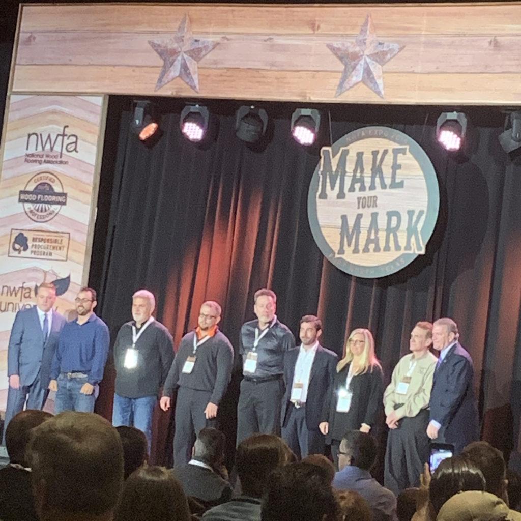 2019 NWFA Vanguard Service Award Recipients