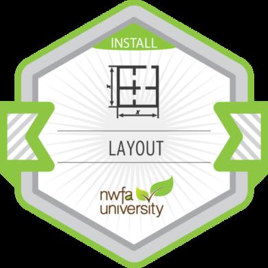 NWFA University Install – Jobsite Layout
