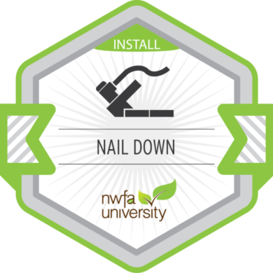 NWFA University Install – Nail Down Installation