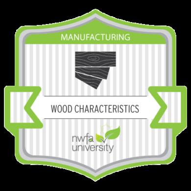 NWFA University - Manufacturing Wood Characteristics Certificate